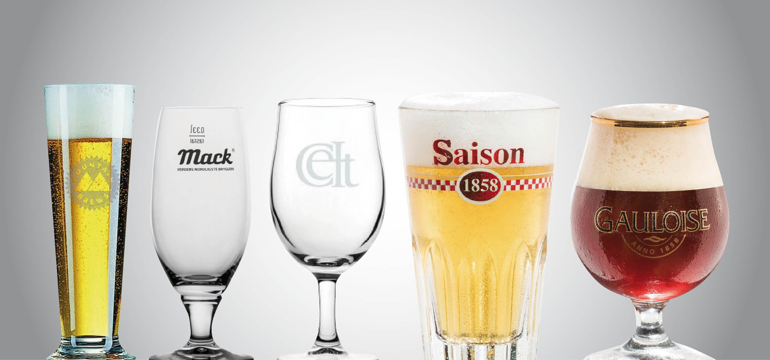 Glas från Mountain Brews, Mack, Celt, Saison och Gauloise
